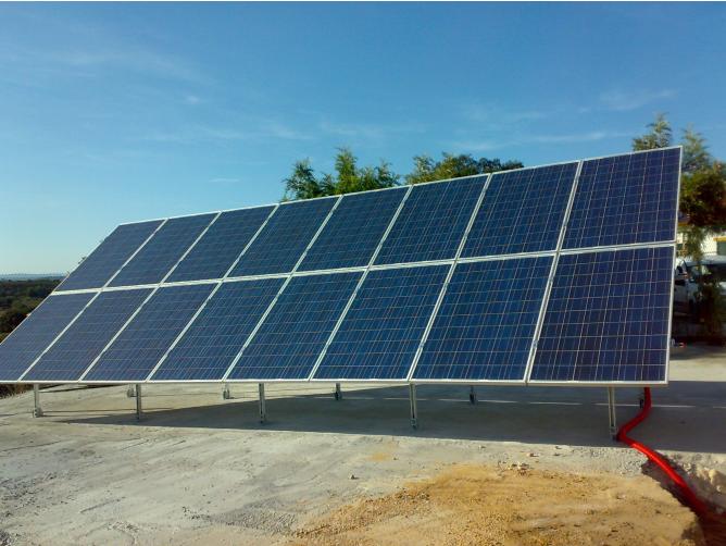 Instalação Fotovoltaica em Vale de Cavalos