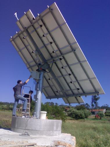 Instalação Solar Fotovoltaica na Giesteira